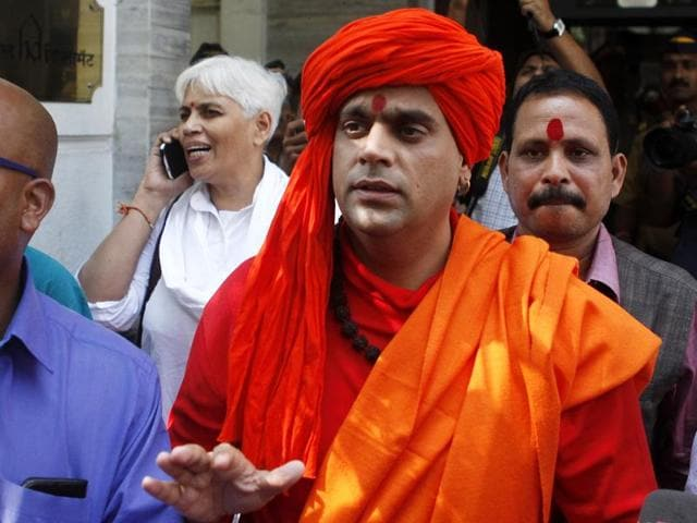 Hindu Mahasabha chief Swami Chakrapani had earlier written to the Union Home Ministry in which he mentioned about receiving fresh threats from 'D-Company'.