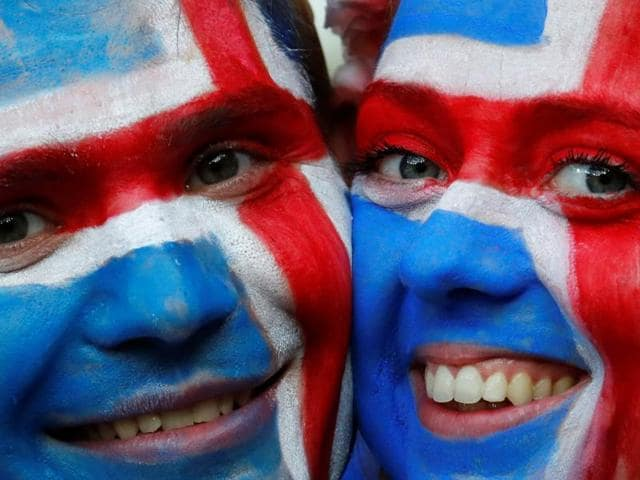 The smallest country ever to compete at the Euros surprised soccer fans around the world after comfortably knocking out England.(AP)