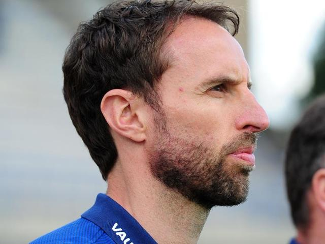 Gareth Southgate may be put in temporary charge of the England national team after Roy Hodgson's resignation.
