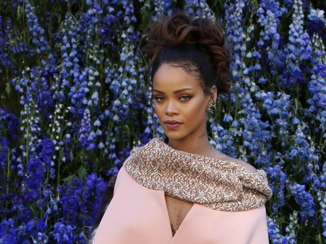 A source close to Rihanna hinted that she is miffed because her lookalike is seen lying next to politicians with views she doesn't agree with.