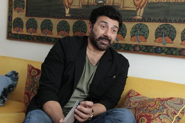 Actor Sunny Deol says he gets offered the same kind of roles, reason why his releases have reduced over the years.