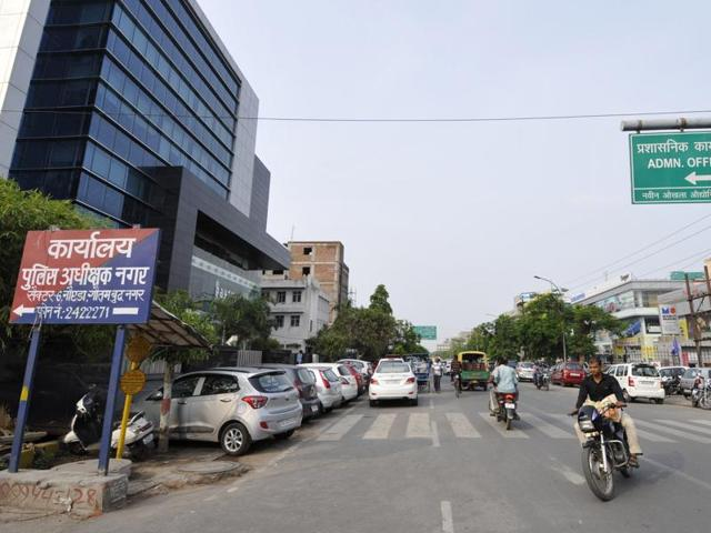 Udyog Marg was made a one-way in January this year to ease traffic congestion in the area.