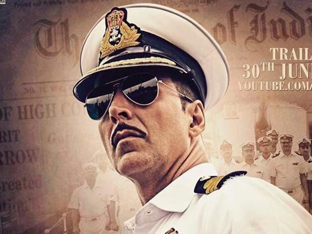 Rustom is the story of a Naval Officer K M Nanavati who murdered his wife's lover and then subsequently turned himself in.