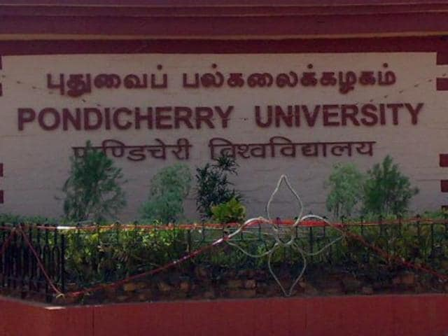Pondicherry University VC Chandra Krishnamurthy had been issued a show cause notice after a UGC committee found her guilty of plagiarism and misrepresentation.