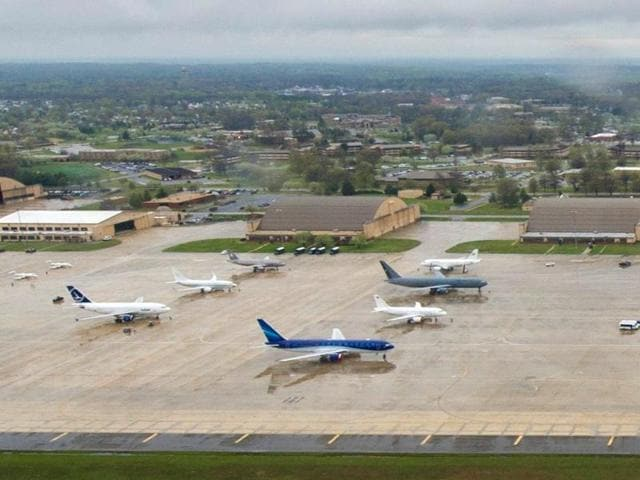 Joint Base Andrews, in Prince George's County, Maryland, is the home of Air Force One and to other emergency reaction units for the area around the nation's capital.