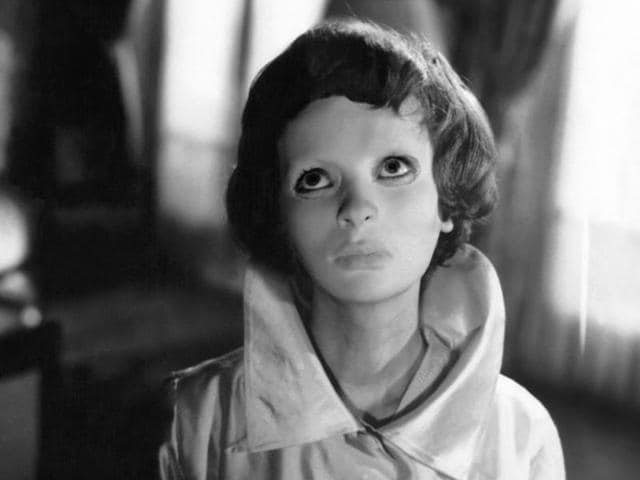 A film still from Georges Franju's 1960 film Eyes Without a Face.
