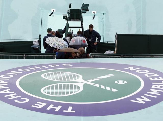 Wimbledon,Andy Murray,London rains