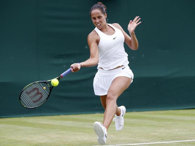 Keys reached the third round with a 6-4, 4-6, 6-3 win over Kirsten Flipkens.