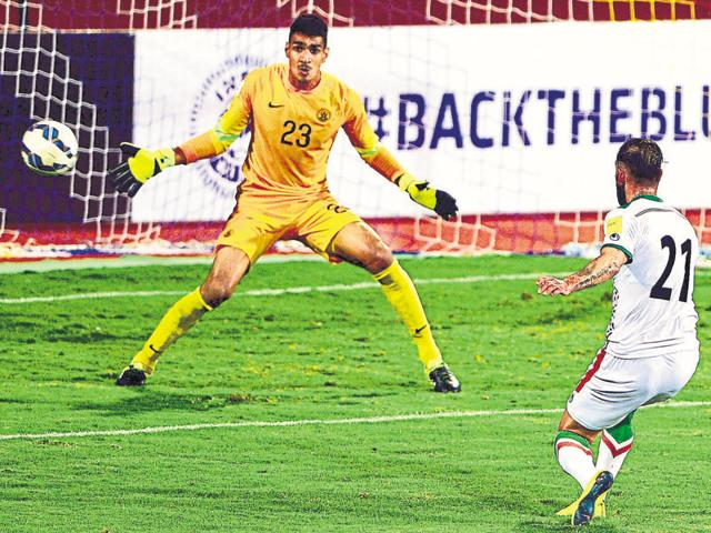 Goalkeeper Gurpreet Singh Sandhu, who is on the books of Norway's Stabaek FC, is in line to start against Connah's Quay Nomads.