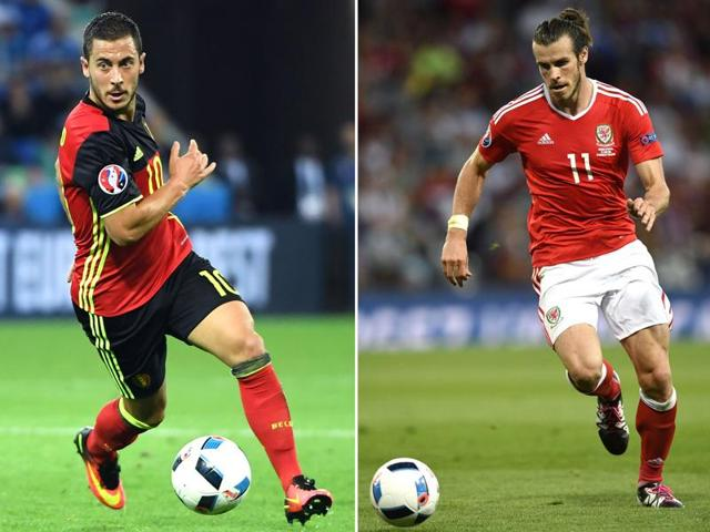 History awaits the victors as Wales talisman Gareth Bale and rejuvenated Belgium star Eden Hazard lead their respective golden generations into battle in Friday's Euro 2016.