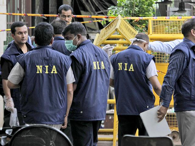 NIA officials said the men talked about successfully testing an improvised explosive device (IED) and preparing 'Talcum Powder', code for chemical mixture.