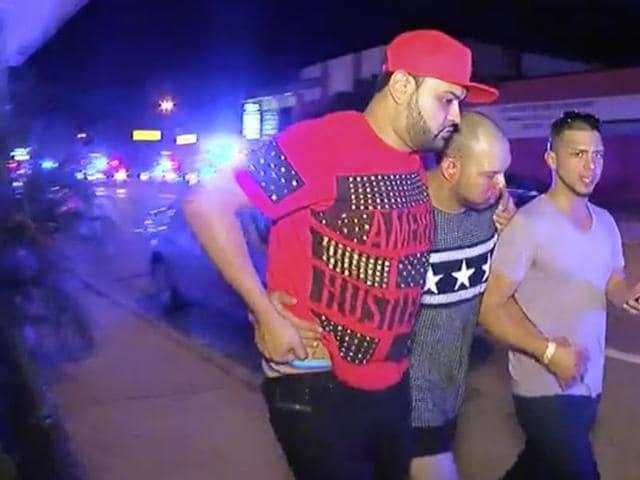 A gunman wielding an assault-rifle and a handgun opened fire inside a nightclub in Orlando, Florida.