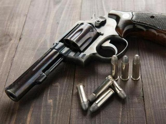 Son shoots mother