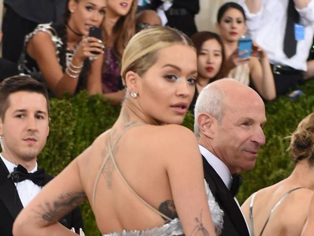 Rita Ora was hospitalised due to exhaustion.