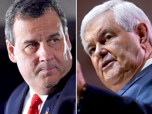 Trump considering Newt Gingrich, Chris Christie for US vice