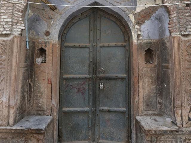 Old Delhi,Doors,Haveli