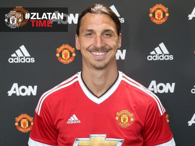 It's #Zlatantime: Manchester United complete Zlatan Ibrahimovic signing
