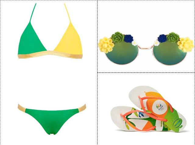 Here's a look at some of the Brazilian buys currently on offer to get into the spirit of the Summer Olympics.
