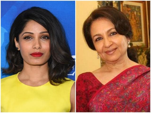 The Academy of Motion Picture Arts and Sciences has invited Sharmila Tagore and Frieda Pinto to become its member.