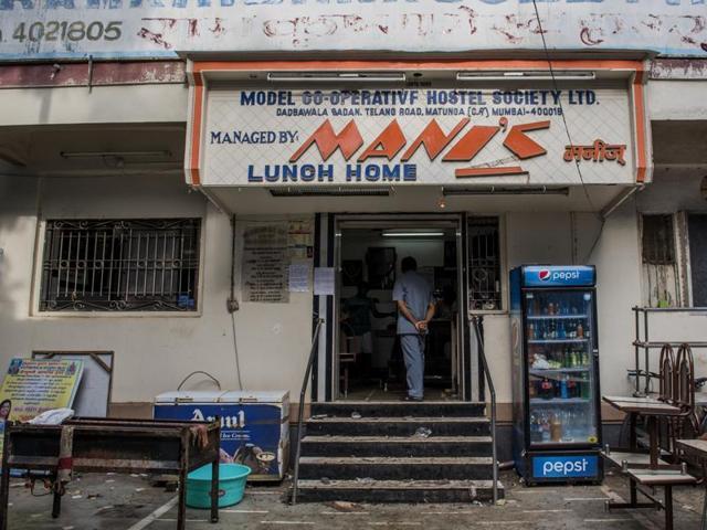 The branch of the restaurant opposite Sri Bhajana Samaj shut down in the afternoon.