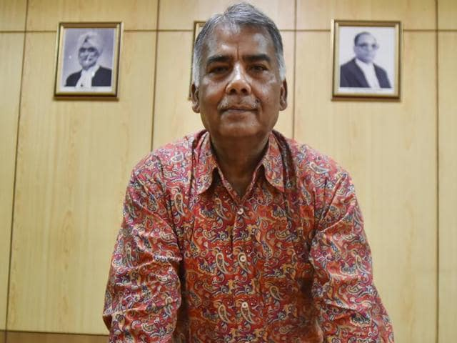 Press Council of India chairman Justice C K Prasad.(Ravi Choudhary/HT Photo)
