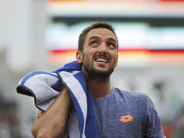 "Serbia's Viktor Troicki blasted an umpire as an ""idiot"" and lambasted him for being ""the worst in the world"" at Wimbledon.(AP File Photo)"