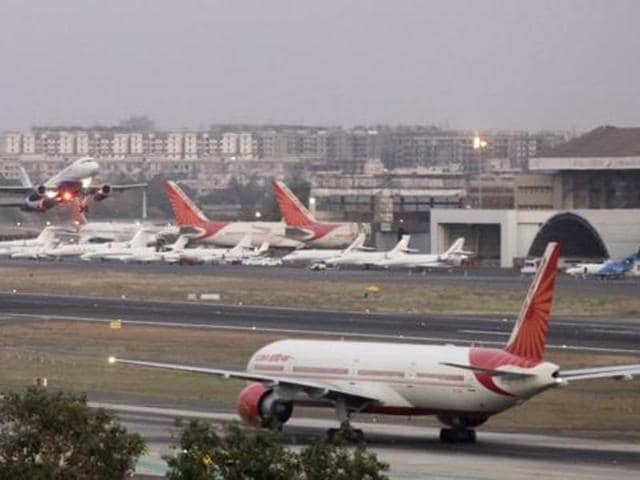 Rains delay flights