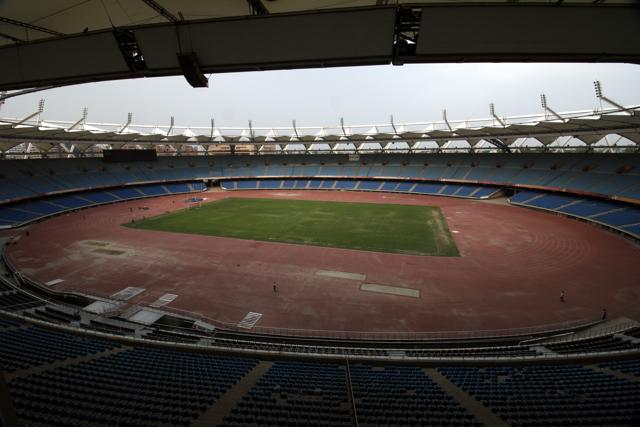 India played its first-ever day and night match under floodlights at this stadium in 1983.