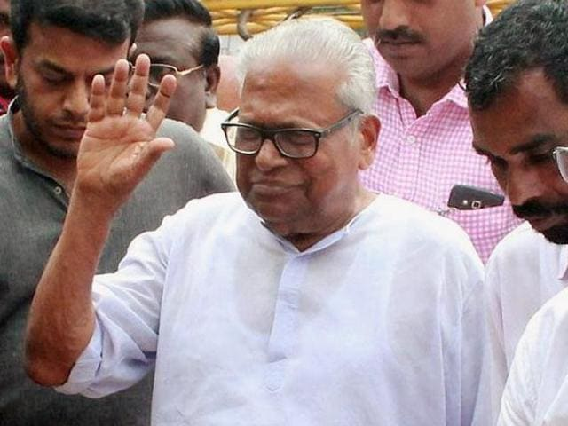 Veteran Marxist leader and former Kerala CM VS Achuthanandan will play himself in a movie.