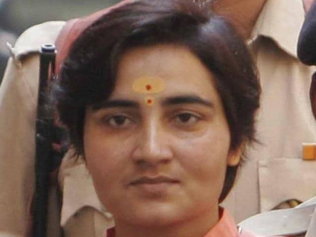 The National Investigation Agency is accused of going soft on Malegaon Bomb blast accused Pragya Thakur.