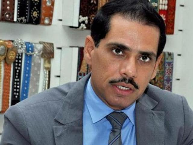 Kirit Somaiya accused Robert Vadra of making Rs 58 crore against a capital investment of Rs one lakh.