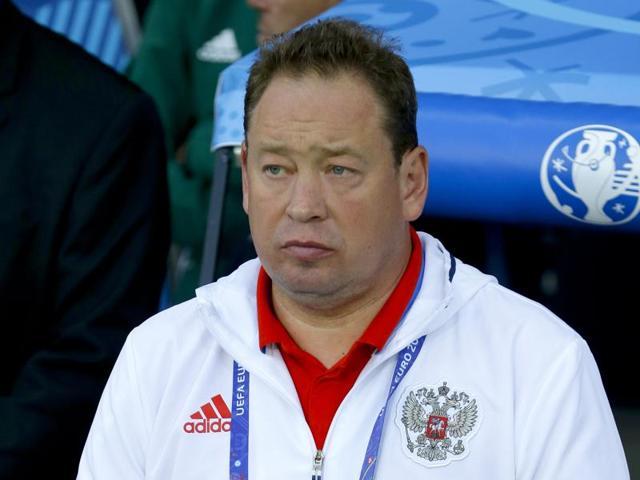 Russia coach Leonid Slutsky quits after team's Euro 2016 'poor show'