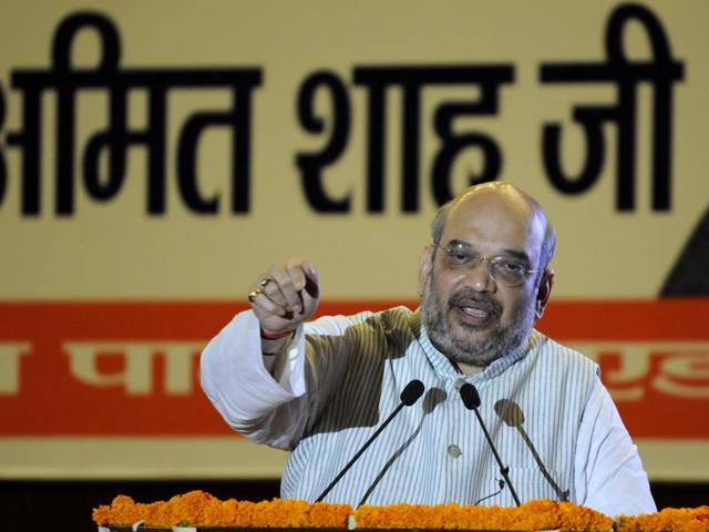 BJP national president Amit Shah was speaking at a 'conference of intellectuals' organised by the party's city unit.