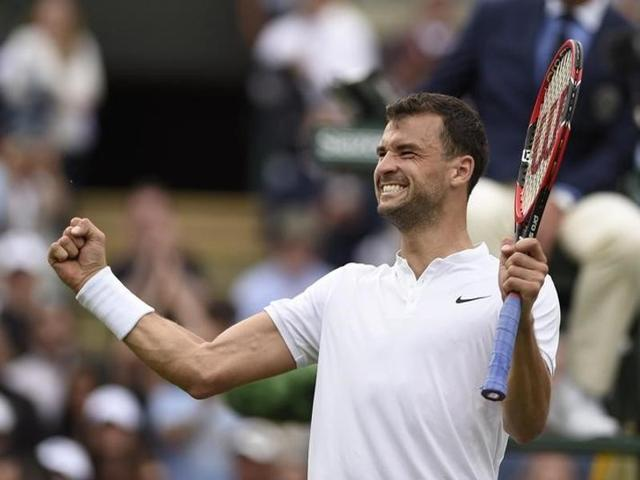 Dimitrov has suffered a slump since he reached a career-high ranking of nine in 2014.