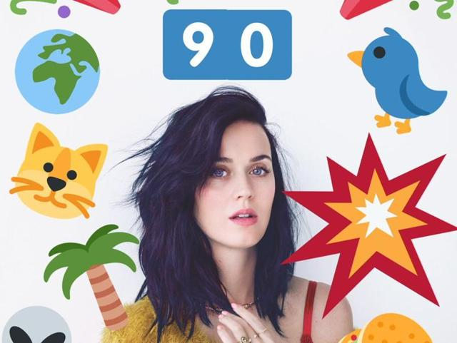 Katy Perry is the most followed person on Twitter with 90 million followers