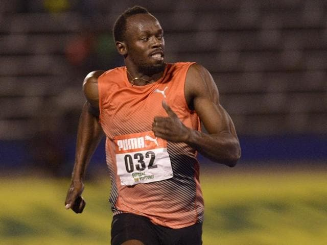 Usain Bolt withdrew from the Jamaican National Olympic Trials after Friday's 100m semifinals with a torn hamstring.