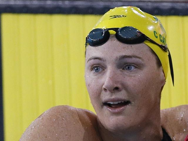Australian swimmer Cate Campbell has broken the 100-metre freestyle world record at the Brisbane Grand Prix.