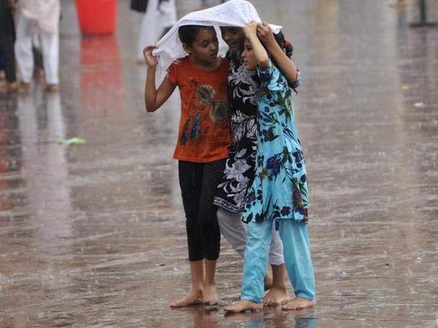 Pre-monsoon showers have been lashing Delhi since Thursday evening.