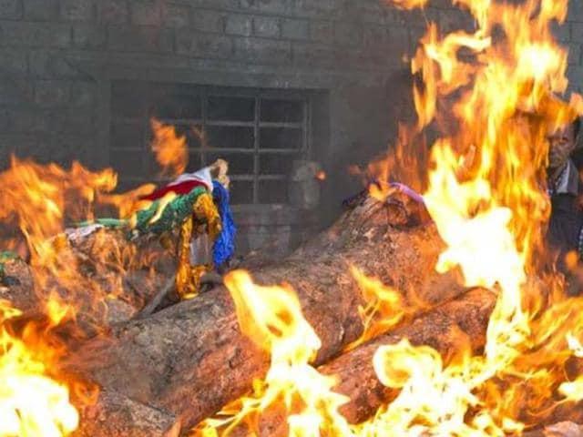 Funeral Pyre,Rajasthan