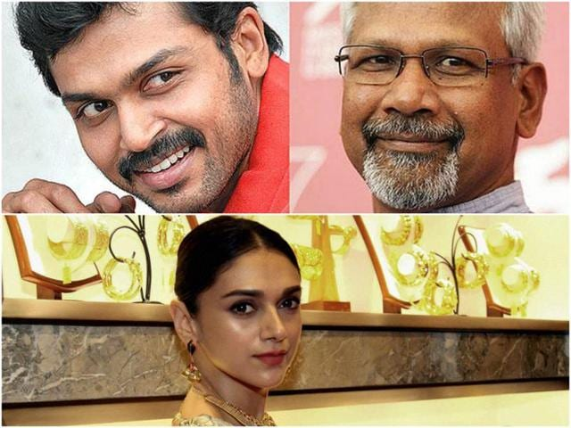 In Mani Ratnam's next, Karthi plays a pilot who falls in love with a girl on his trip to India.