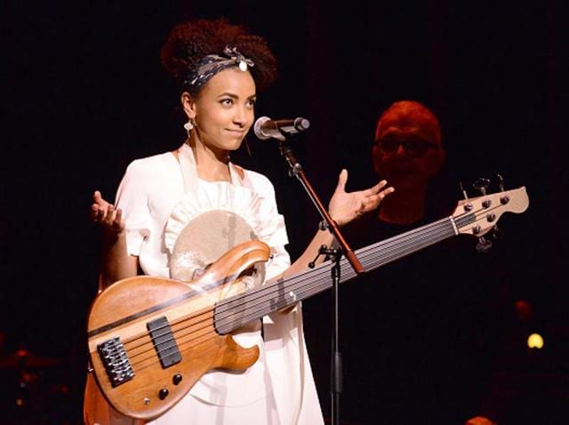 A few years back Esperanza Spalding became the first jazz musician to win a Grammy in the best new artist category.(Getty Images)