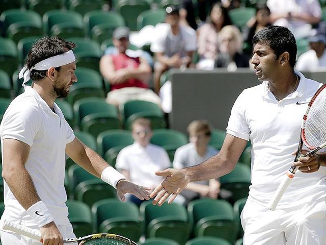 Wimbledon 2016,Rohan Bopanna,Florin Mergea