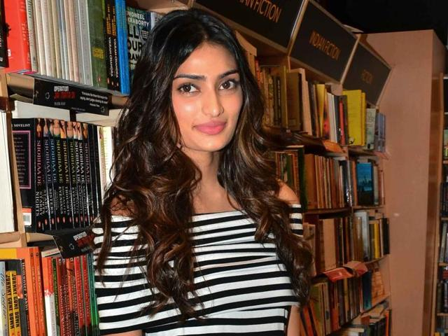 Athiya Shetty shoots for her first advertisement