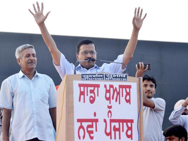 AAP will end Punjab drug menace in a month, claims Kejriwal