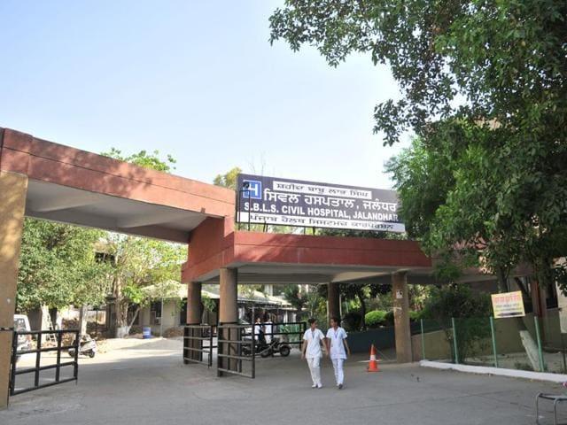 Jalandhar civil hospital.