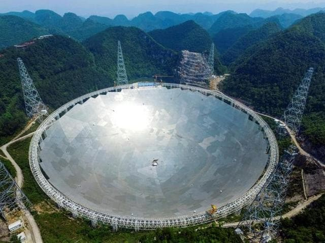 China's giant radio telescope,FAST,Extraterrestrial life