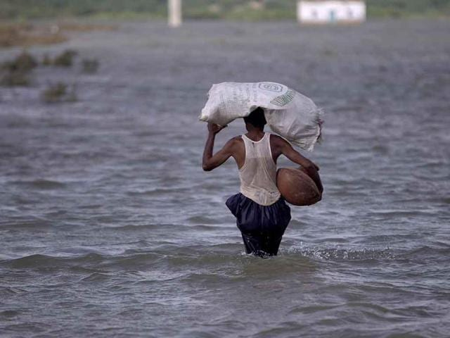 At least 33 people have died in flash floods in northern Pakistan.