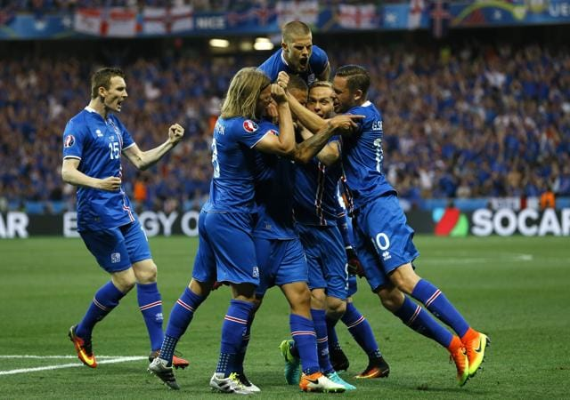 Iceland have created two goals from throws straight into the penalty area during their fairytale run to the last eight.