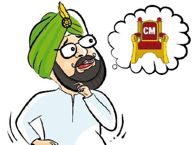 Why would Punjab Congress chief Captain Amarinder Singh reveal at a recent TV show that he was all set to quit the party when the Congress high command let Partap Bajwa stay on