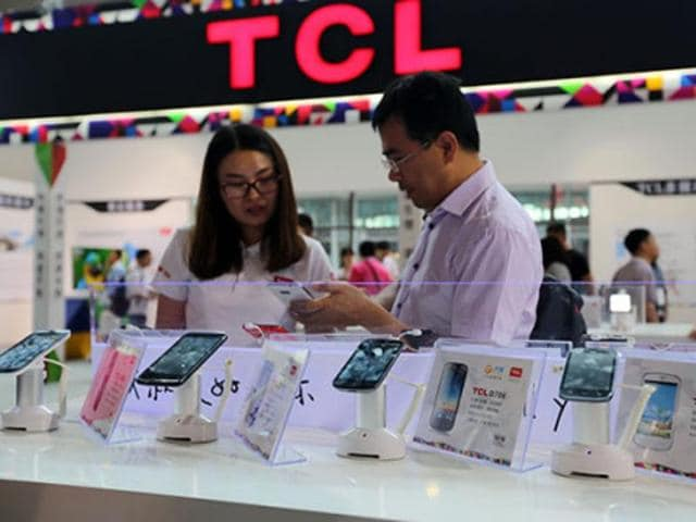 Hong Kong-based smartphone maker TCL Corporation is expected to launch its first smartphone in the country on Monday with the unique retina-verification feature.